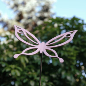 outdoor garden decorations metal butterfly garden ornaments